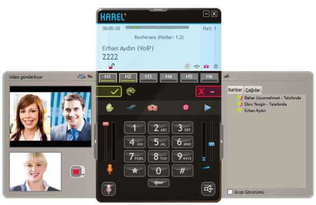 Karel YT 500 İP Telefon